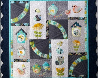 Birdsong Quilt by Claire Turpin Design