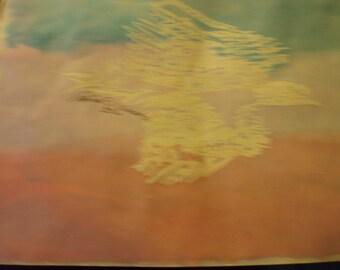 Eagle crayon resistance