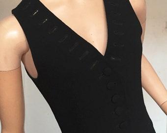 Moschino Couture wool waistcoat