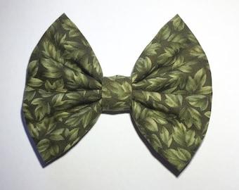 Leaf Hair Bow
