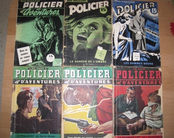 Vintage 6 novels policeman Collection / Vintage 6 Romance Policeman Collection