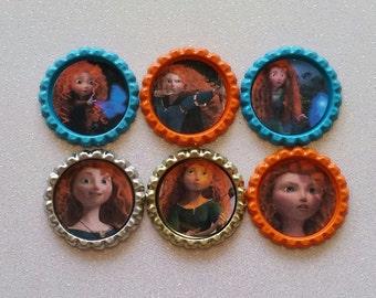 Brave ID Badge, Disney ID Badge, Badge Holder, ID Badge, Disney Brave, Brave, Merida, Merida Badge, Disney Brave Badge,Disney Princess Badge