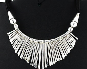 Amazing Rajasthani Design 925 Sterling Silver Necklace