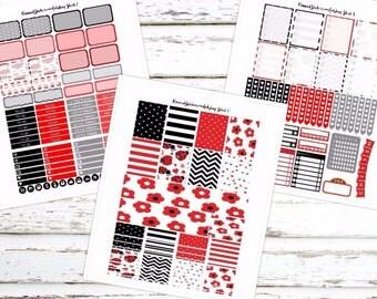 Ladybug Printable Sticker Set