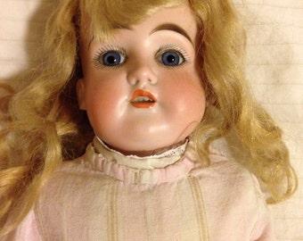 1890s German bisque doll.