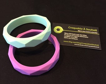 Silicone/breastfeeding bracelet bracelet