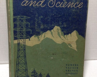 Vintage Our World and Science book