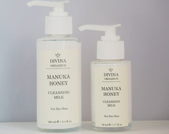 Manuka Honey Rich Cleansing Milk, Dry Sensitive Skin