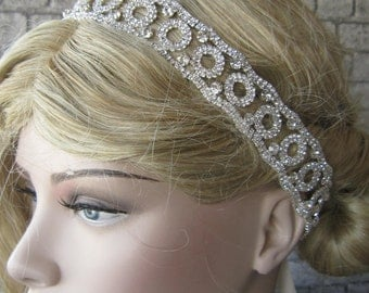 Rhinestones Headband, wedding headpiece, Bridal headpiec, bridal headband, wedding accessories,Hair accessories