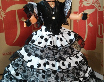 Flamenco doll collection new Andalusian 42 cm Folk crafts limited edition