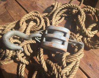 Vintage Sisal Rope