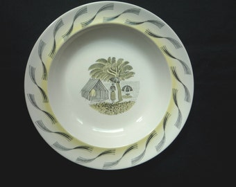 Wedgwood Eric Ravilious 'Garden' Plate/Shallow Bowl - 8 inch (20.5cm)