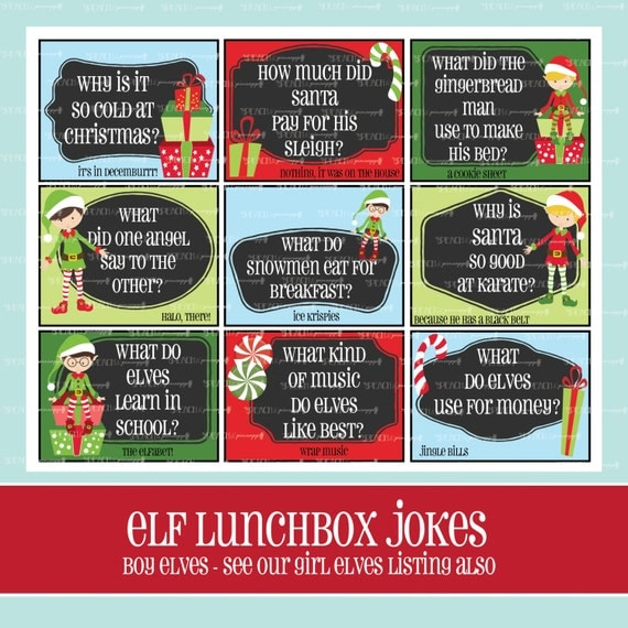 Elf Lunchbox Jokes