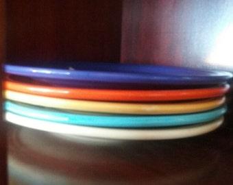 Original Fiesta Fiestaware luncheon plate Homer Laughlin hlc