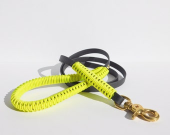 Neon Yellow Leash