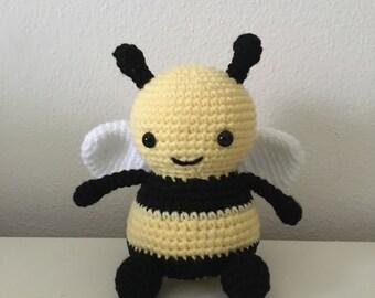 Bea the Busy Bee Handmade Anigurumi Crochet Toy