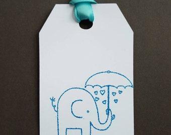 Gift Tags - baby shower Gift Tags - baby gift tags - birthday gift tag - - baby shower favor tags- set of 8