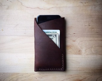 Phone Campanion - Leather Phone Wallet (iPhone 6)