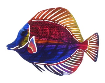 Next Innovations Angelfish Refraxions 3D Wall Art, Multi