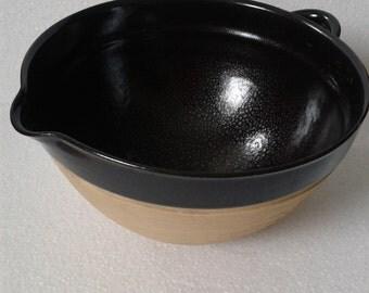 Vintage mixing bowl bakeing french kitchenalia