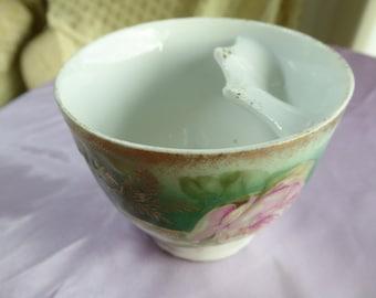 Fine China Mustache Cup