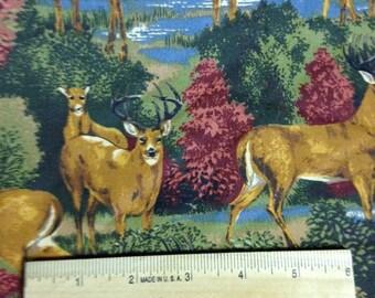 Deer Run, V.I.P. by Cranston, 100% Cotton