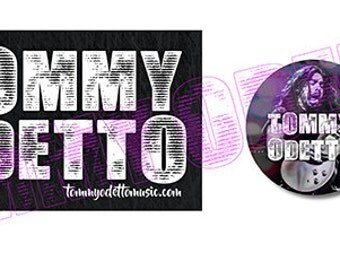 Tommy Odetto Buttons/Sticker Pack