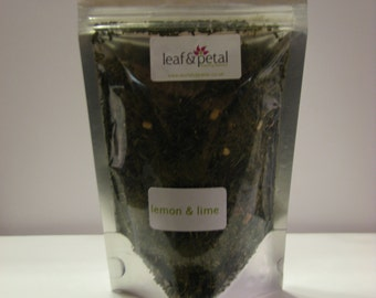 Loose Leaf Tea - Green Tea with Lemon & Lime - 100gms