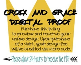 Digital Proof - Croix and Grace