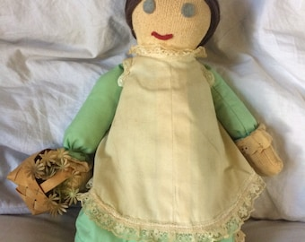 Vintage Handmade Doll  |  Handmade Doll | Decorative Doll