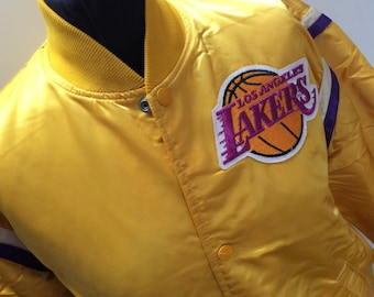 1980s STARTER Los Angeles LAKERS Vintage Made in U.S.A Jacket