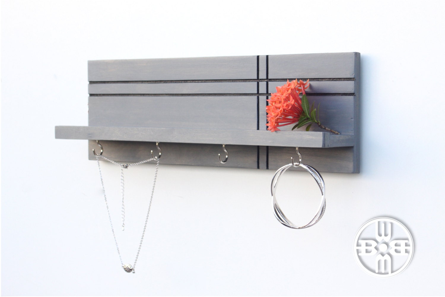 jewelry rack jewelry display necklace holder entryway wall