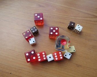 Lot of various dice