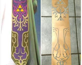 2-piece Twilight Princess Zelda Cosplay Stencil Pattern Zelda Apron / tapestry
