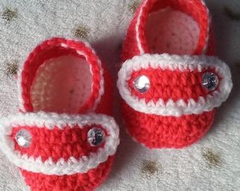 Crochet booties/baby booties/crochet shoes/crochet baby booties/cute girl shoes/boy booties/Newborn crochet/booties handmade