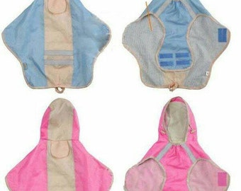 Large Dog Raincoat Lightweight  Mac Waterproof Available in Pink and Blue