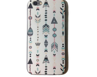 Phone case cover Iphone/LG/Samsung Arrows pattern colotful design illustration