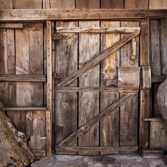 Rustic Old Wood Wall Backdrop