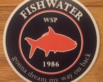 "Widespread Panic Sticker ""Fishwater"""