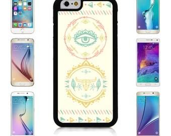 Cover Case for Apple iPhone 7 7 Plus 6 6S Plus Samsung Galaxy S7 Edge S6 Plus Note 5 6 7 8 9 10 att sprint verizon Boho Element Logo