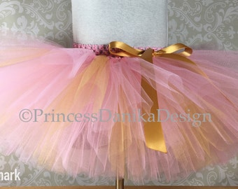 Pink and Gold Tutu, 1st Bday Tutu, Smash Cake Tutu, Bridal Shower Tutu, Baby Shower Tutu, Holiday Tutu, Infant/Toddler Tutu, Adult Tutu