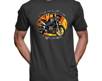 Buell Lightning Fast and Fierce Men's T-Shirt