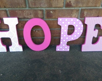 Wooden Letters, Nursery Letters, Customized Letters, Sports Letters, Girl Letters, Boy Letters, Nursery Decor