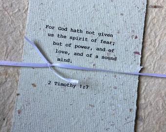 2 timothy 1 7 etsy scripture gift about courage 2 timothy 17 bible verse about fear typed negle Choice Image