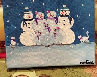 Custom snow families