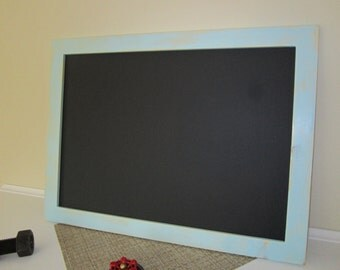 18 x 24 Chalkboard,Rustic Chalkboard, Painted Chalkboard, Framed Chalkboard, Kitchen Chalkboard,Wedding Chalkboard, Homemade Chalkboard