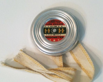 Official Lone Ranger Pedometer - 1950s - Cheerios