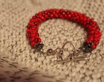 Red Handmade Bracelet