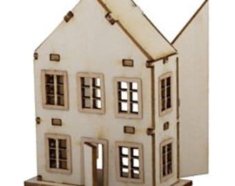Toy Dollhouse Kit / DIY Dollhouse Miniatures/ Dollhouse Kits DI TY108