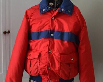 Men's / Women's / Retro Ski Jacket / Winter Jacket / Vintage Winter Coat